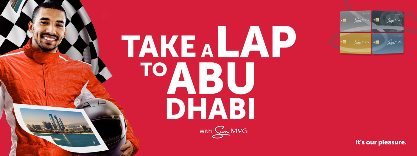 Take a Lap to Abu Dhabi with Sun MVG